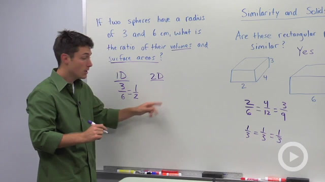 Similarity and Volume Ratios - Problem 1