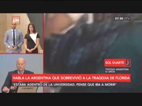 Fue el peor día de mi vida, dijo una argentina tras la masacre en Florida