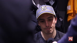 Golden Knights React To Loss Against Sharks – VIDEO