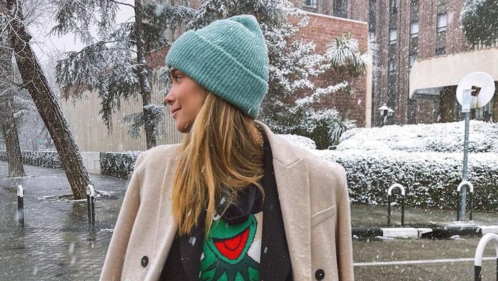 Después de Cristina Pedroche... ¡María Pombo se queda atrapada en la nieve!