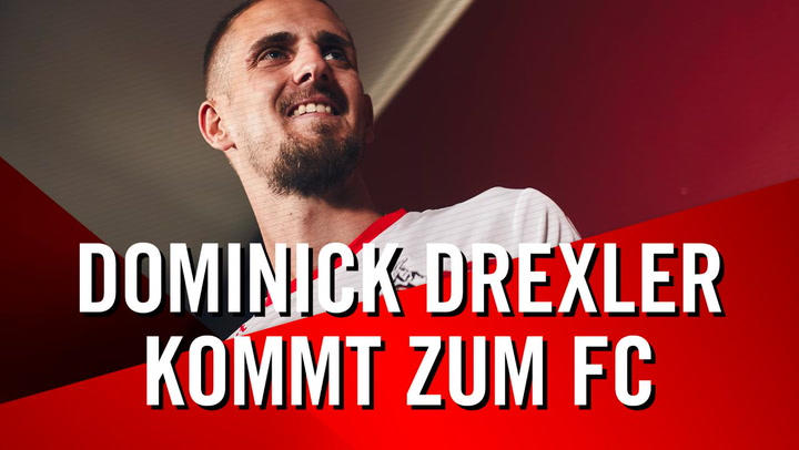 Dominick Drexler kommt zum FC
