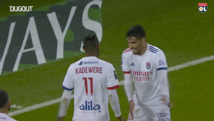 Tino Kadewere's winner at Paris Saint-Germain