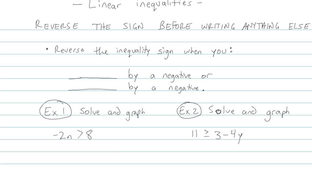 Linear Inequalities - Problem 4