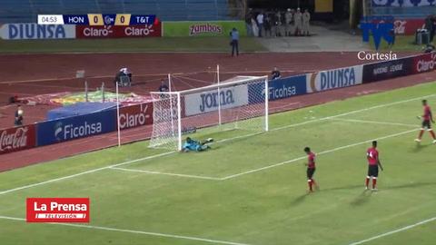 El golazo de Jonathan Rubio contra Trinidad y Tobago