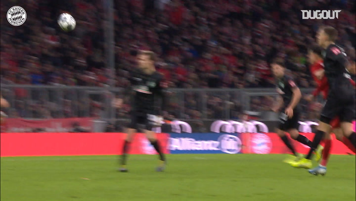Robert Lewandowski's double vs Werder Bremen