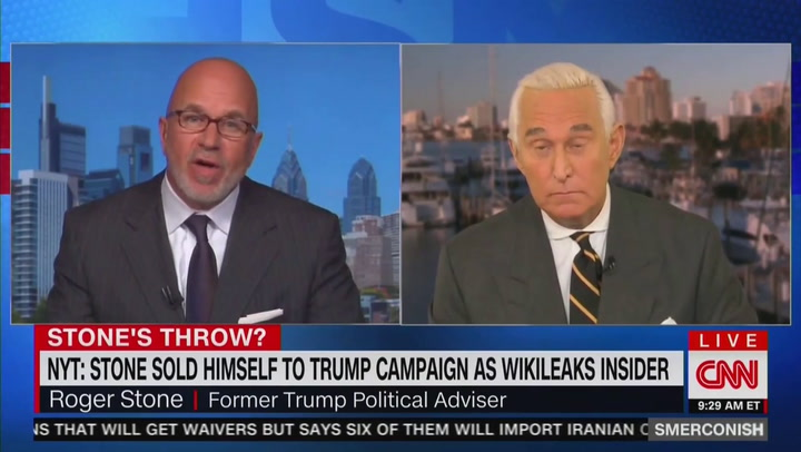 Image result for Roger Stone Rips Michael Cohen for Claims About Trump's Racist Talk: He's 'Become a Tool of His New Handlers'