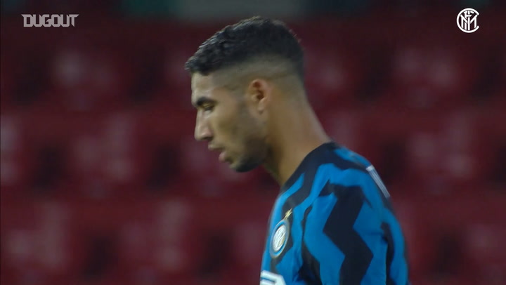 Achraf Hakimi's first months at Inter
