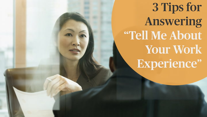 how to answer interview questions about your experience