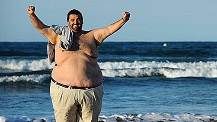 La asombrosa transformación del chef 'Robin Food' tras perder 140 kilos