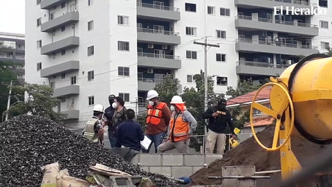 Atic inspecciona terrenos donde instalarán hospitales móviles en Tegucigalpa