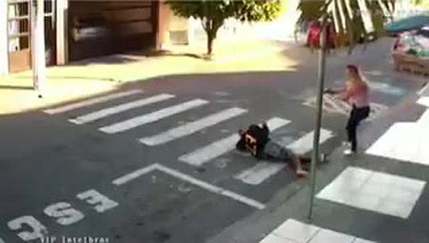 Una policía de civil mató a un ladrón a tiros en San Pablo