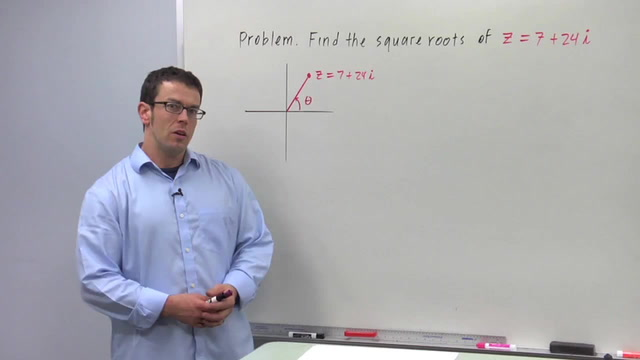 Finding the Roots of a Complex Number - Problem 3