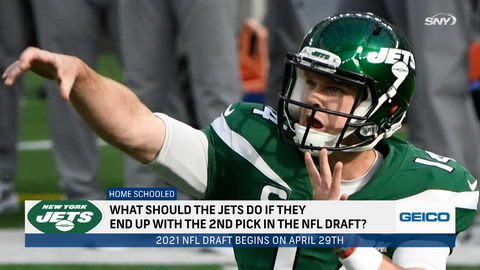 What should the Jets do if they pick second in the 2021 NFL Draft?