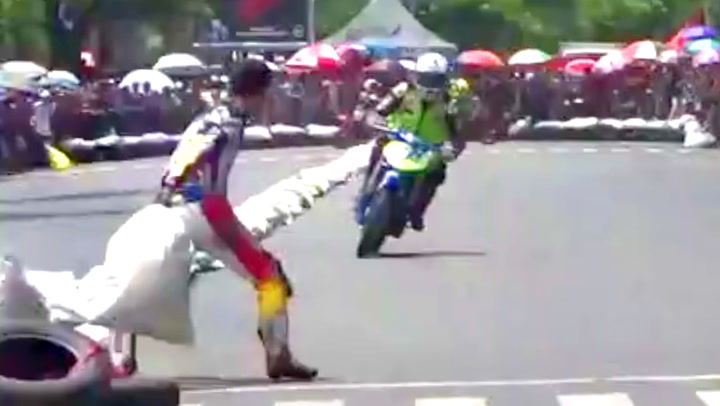 Dette motorsykkelløpet er villere enn de fleste