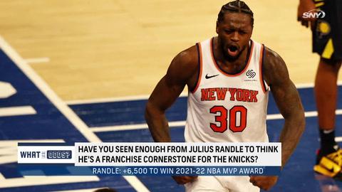 Here's how Julius Randle's MVP odds look