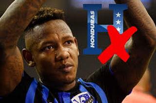 Romell Quioto, virtual baja para el amistoso de Honduras ante Guatemala