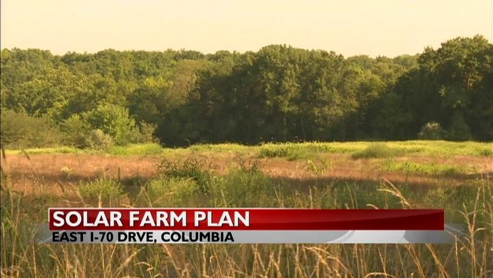 Columbia property owner concerned over solar farm plan