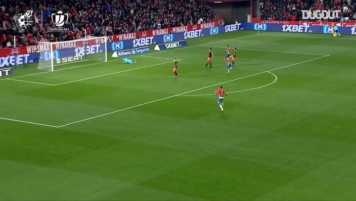 Roberto Soldado's great goal for Granada