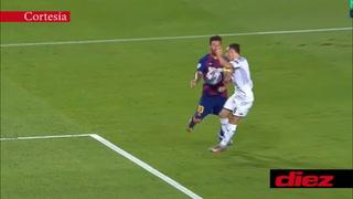 El gran gol que le anuló el VAR a Messi ante el Napoli por una supuesta mano
