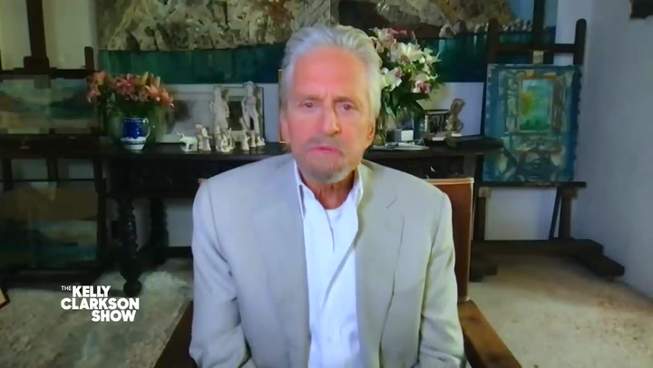 Michael Douglas confused for daughter's grandfather