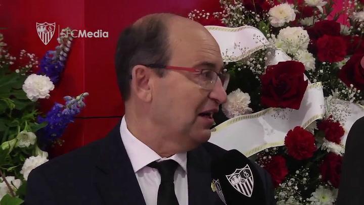 José Castro y Joaquín Caparrós tuvieron un último recuerdo para Reyes