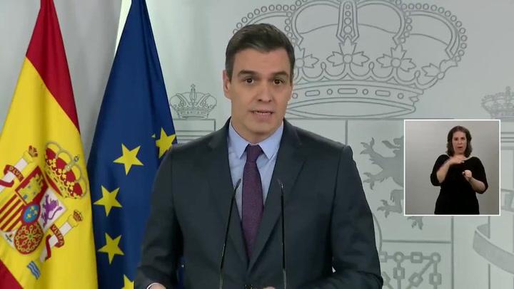 Pedro Sánchez prorroga el estado de alarma hasta el 26 de abril
