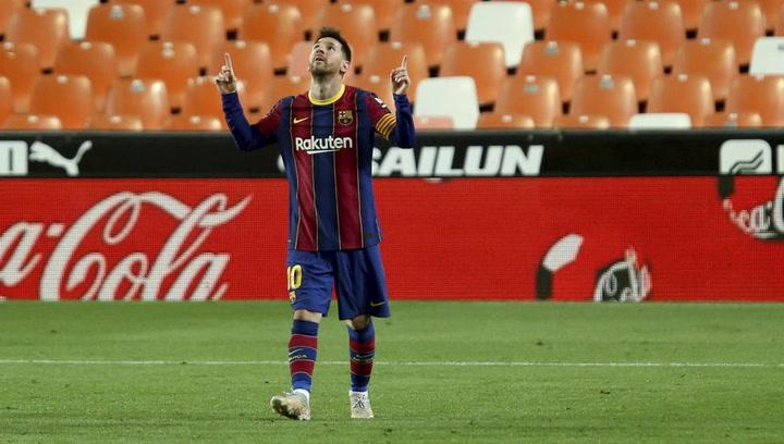 Los números de Messi con el Barça