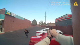 Hostage escapes clutches of robber before shooting