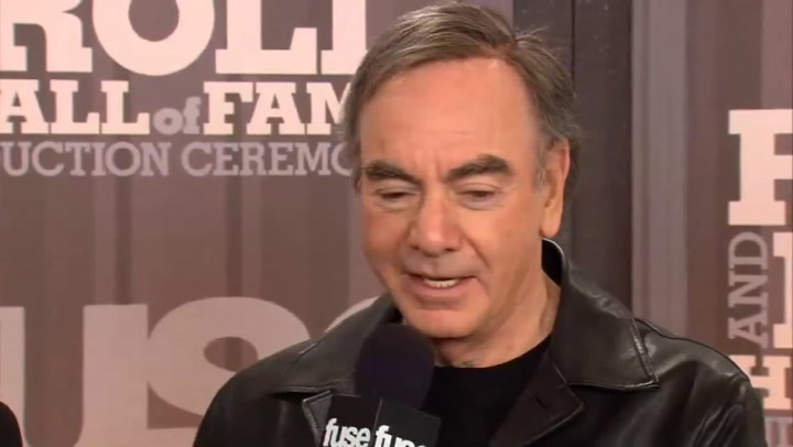 Fuse Presents: Rock Hall: Neil Diamond Interview Part 1 - 2011 Rock & Roll Hall of Fame Induction Ceremony