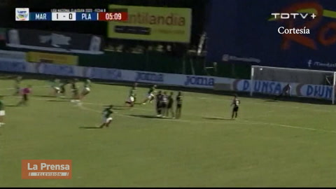 Marathón 3-1 Platense (Liga Nacional de Honduras)