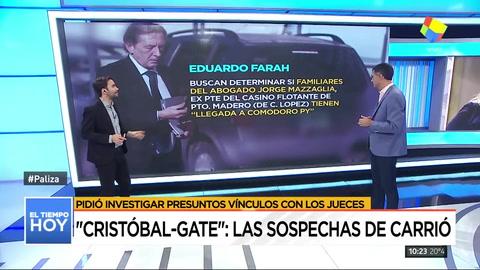 Investigan a los jueces que liberaron a Cristobal López