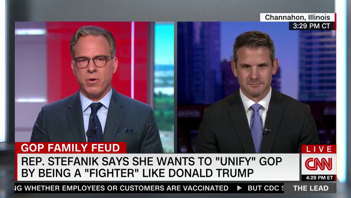 Kinzinger: Less Than Ten House Republicans Actually Believe Trump Won the 2020 Election