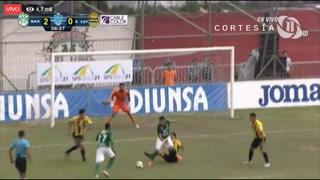 Marathón anota el segundo gol ante la Máquina