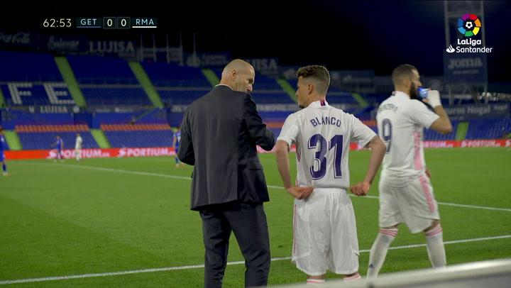 Así fue el debut de Antonio Blanco con el Real Madrid
