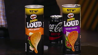 Taking the new 'Salsa Fiesta' chips from Pringles for a spin