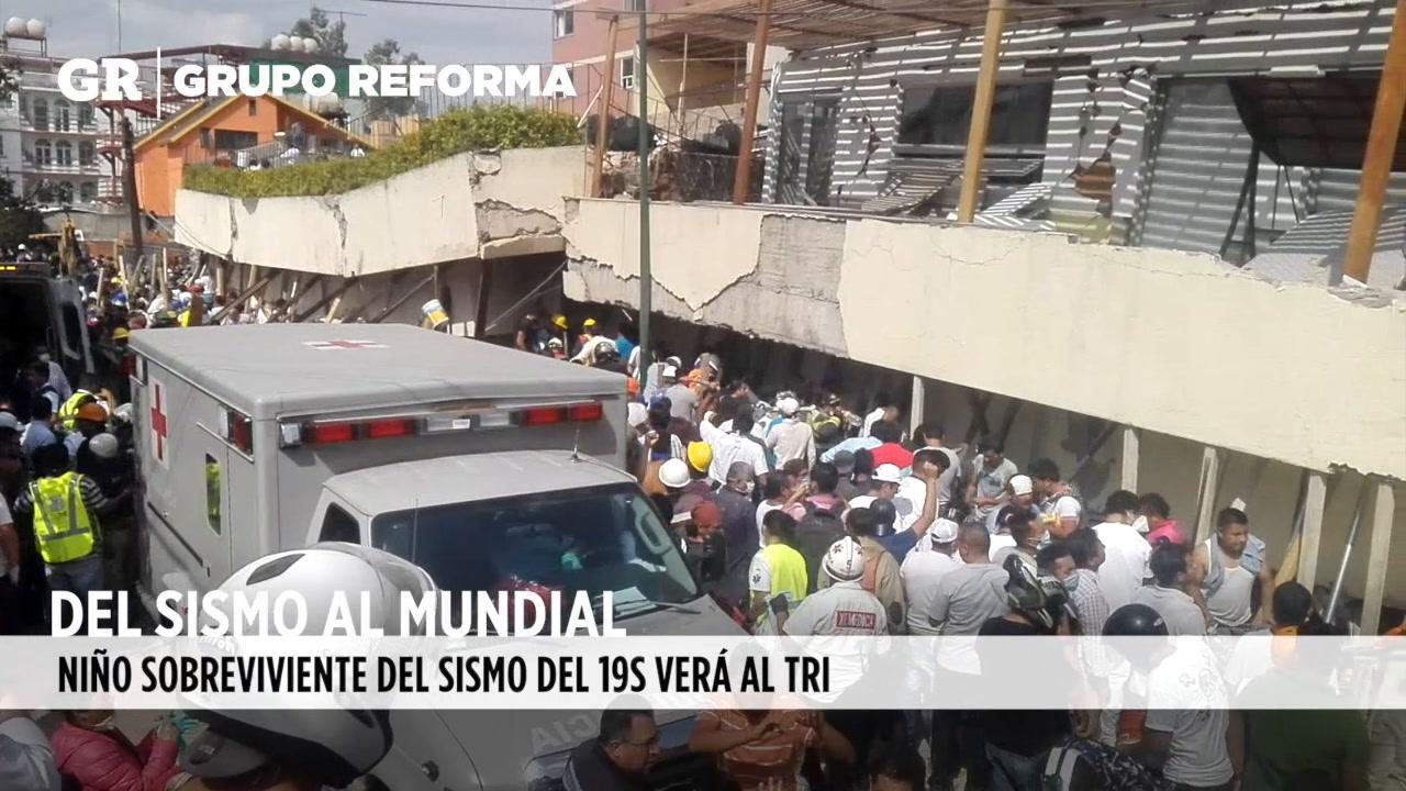Video: Del sismo al Mundial