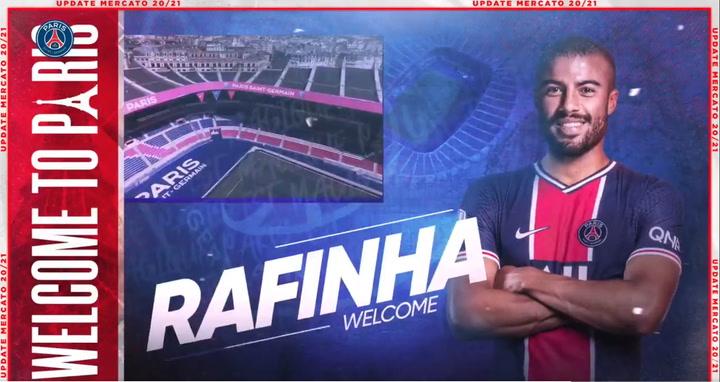 Rafinha, nuevo jugador del PSG