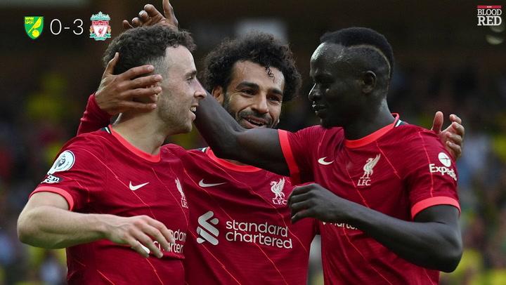 Norwich City vs Liverpool - final score, Salah, Firmino and Jota goals,  commentary recap - Liverpool Echo