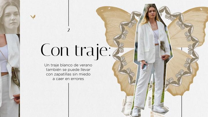 10 looks de verano con zapatillas blancas
