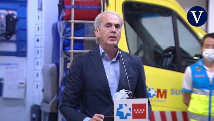 Madrid hará 1.000 PCR aleatorias en las zonas con más contagios