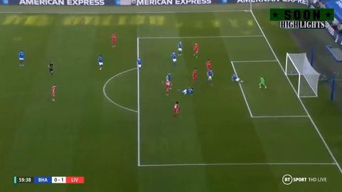 Brighton 1-1 Liverpool (Premier League)