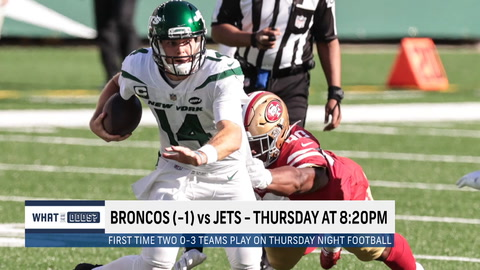 What are the odds the Jets beat the Broncos in Week 4?