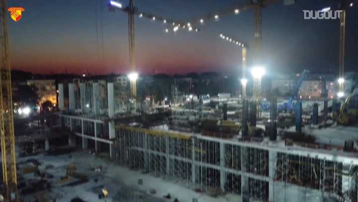 The New Goztepe Stadium Continues To Rise