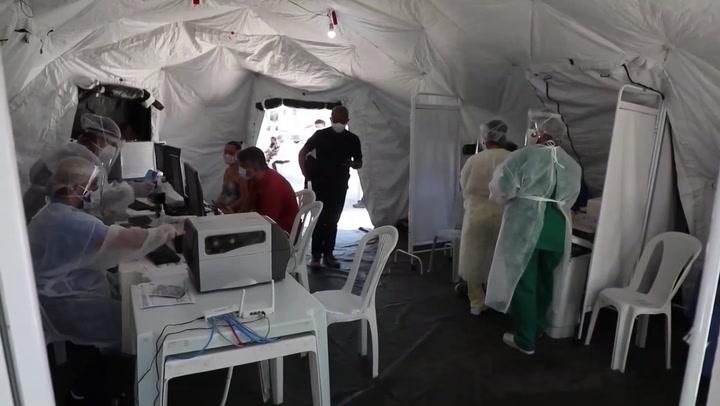Río comienza toma masiva de pruebas tras aumento de muertes por coronavirus