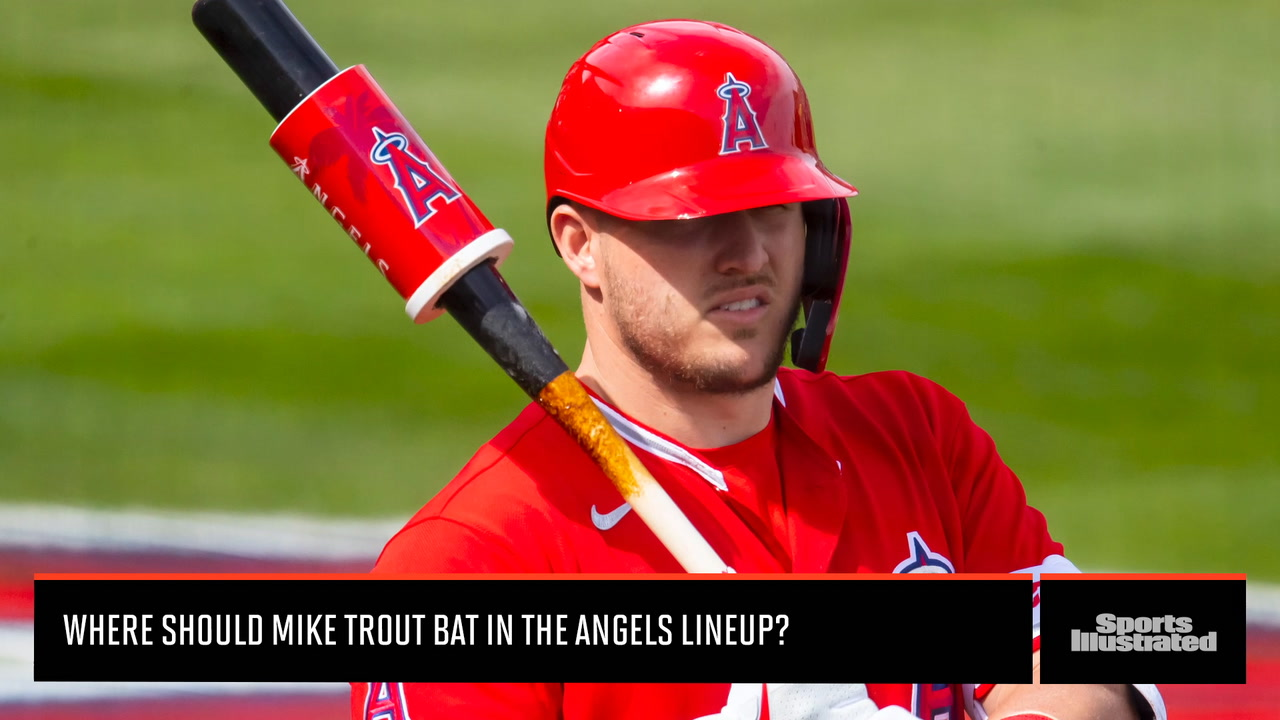 SI Insider: Where Should Mike Trout Bat in the Angels Order?