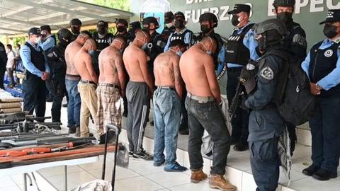 Desintegran en Honduras escuela de sicarios de pandilla Mara Salvatrucha