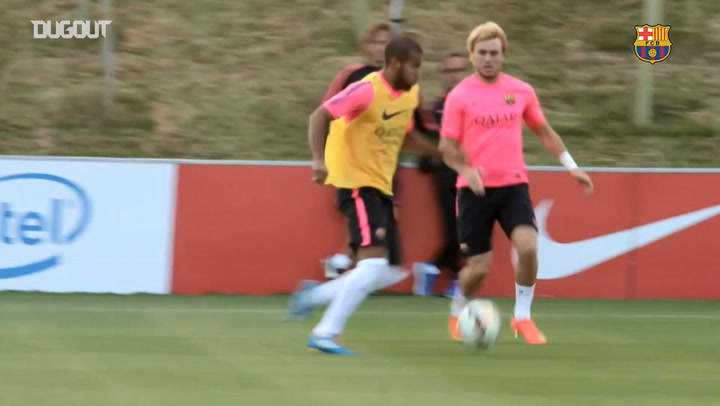 The best moments of Rafinha with Barça