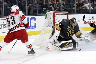 Golden Edge: Knights Lose In Overtime To Hurricanes