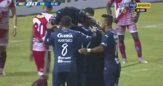¡Sergio Peña pone a ganar a Motagua que está con diez jugadores ante Vida!