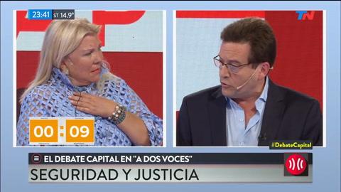 Carrió: Hay un 20% de posibilidades de que Maldonado esté en Chile